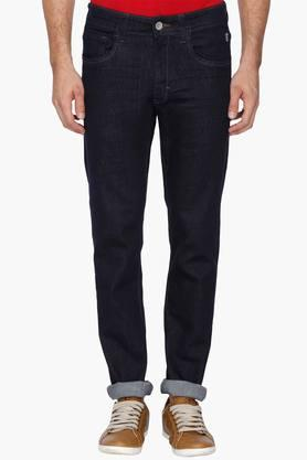 IZOD Mens Slim Fit Rinse Wash Jeans