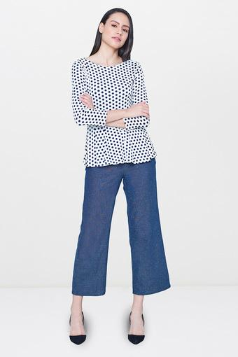 AND -  Navy Trousers & Pants - Main