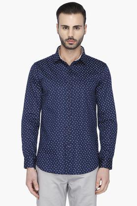 Mens Full Sleeves Printed Casual Shirt
