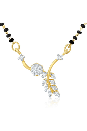 MAHI Mahi Gold Plated Mangalsutra Set For Women NL1101979G