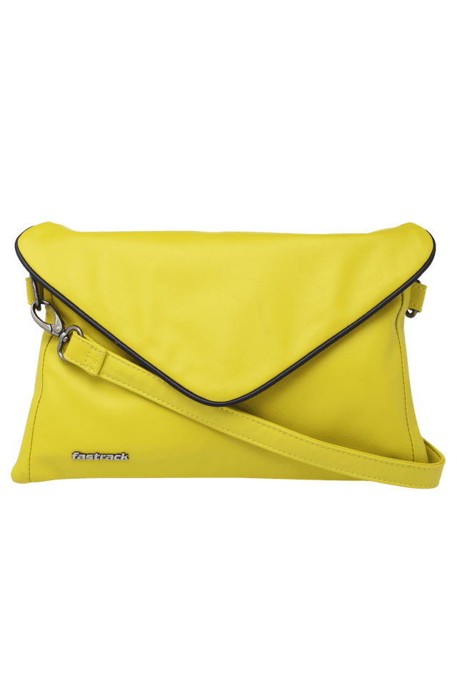3e9e322ee3 Buy FASTRACK Womens Flap Closure Sling Bag | Shoppers Stop