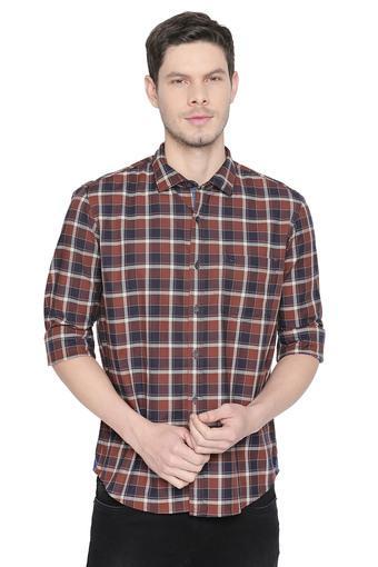 BASICS -  BrownCasual Shirts - Main