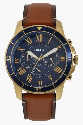 Mens Blue Dial Chronograph Watch - FS5268I