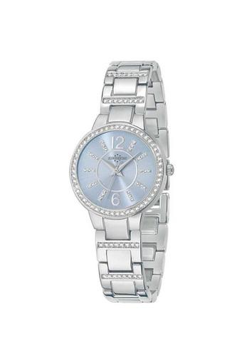 Womens Blue Dial Metallic Analogue Watch - R3753247503