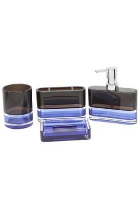 Rectangular Colour Block Bath Set of 4