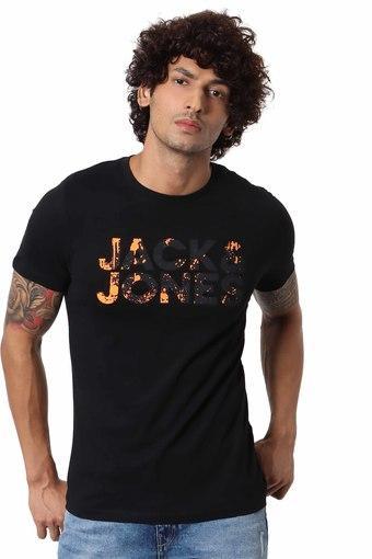 JACK AND JONES -  BlackT-Shirts & Polos - Main
