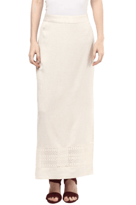 FUSION BEATS Womens Blended Long Skirt