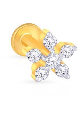 MALABAR GOLD AND DIAMONDSWomens Diamond Nosepin UINSP00420