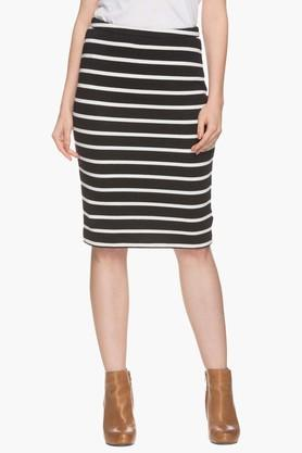 STOP Womens Striped Skirt