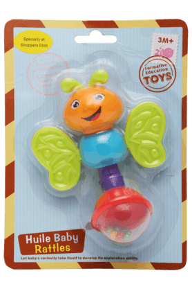 Stop Inflatable Toys - Unisex Huile Rattle Bee Teether
