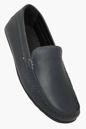 Mens Leather Slip On Loafers - 202321027