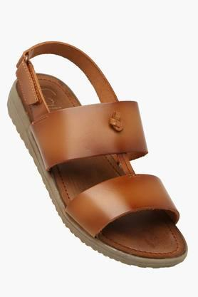 CATWALK Womens Daily Wear Velcro Closure Flat Sandals