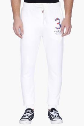 U.S. POLO ASSN. DENIMMens Slim Fit 3 Pocket Solid Track Pants