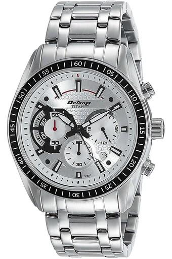 Mens Chronograph Stainless Steel Watch - 90077KM01