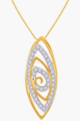Womens Mine Diamond Pendant