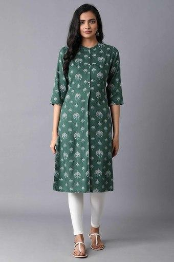 W -  Green Kurtas - Main