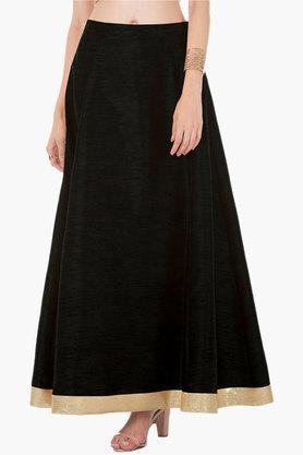 INDYAWomens Slub Long Skirt