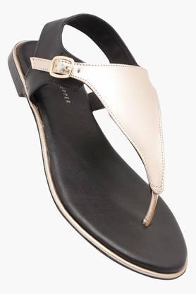 LEMON & PEPPER Womens Casual Wear Buckle Closure Flats - 202454037