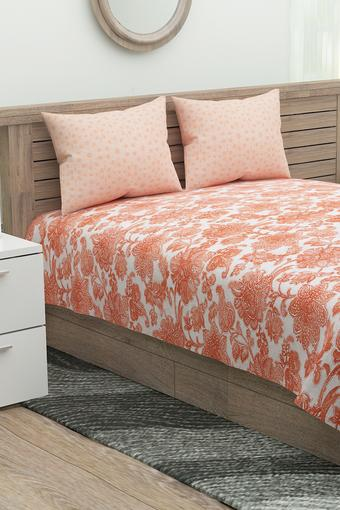 IVY -  Rust Double Bed Sheets - Main