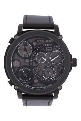 Mens Black Dial Multi-Function Watch - PL15659JSB61W
