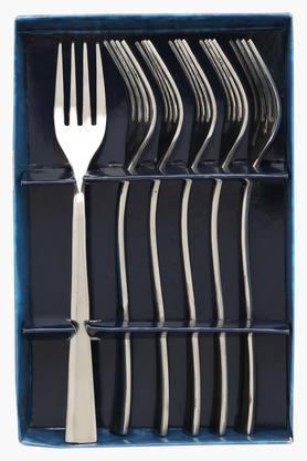 Slimline Solid Dinner Fork Set of 6