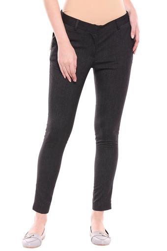 EXCLUSIVE LINES FROM BRANDS -  Dark GreyTrousers & Pants - Main