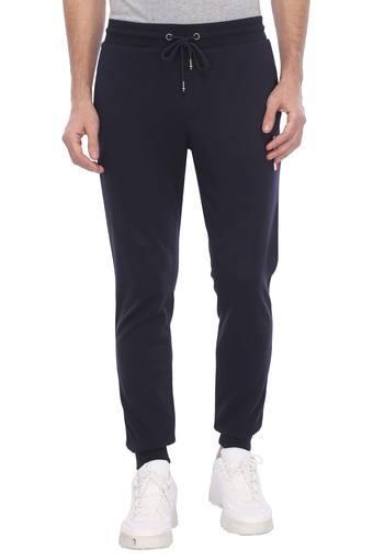 Mens 3 Pocket Solid Sports Track Pants