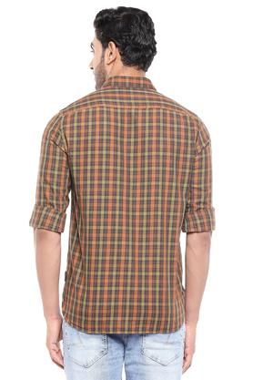 FCUK - Brown Casual Shirts - 1