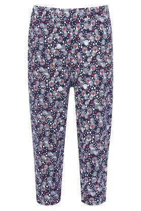 Women 2 Pocket Printed Capris