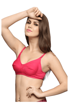 Cotton Rich Non-Padded Full Support Bra