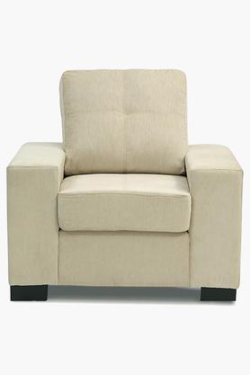 Chestnut Beige Fabric Sofa (Seater)