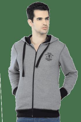 KILLERMens Full Sleeves Slim Fit Stripe Jacket