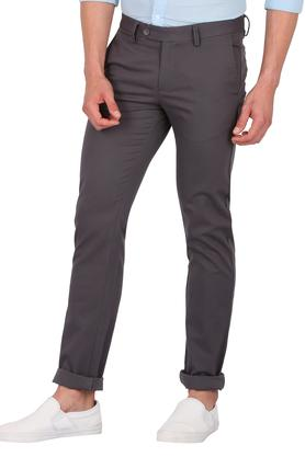 ALLEN SOLLY - Black Casual Trousers - 2