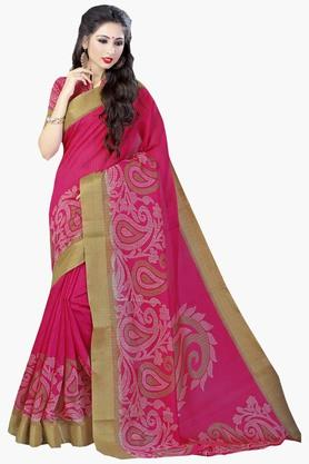 DEMARCAWomens Silk Designer Saree - 202338138