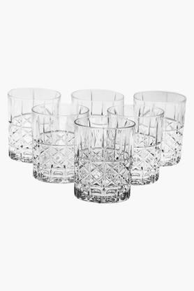 NACHTMANNDiamond Whisky Glass Set Of 6 - 345 Ml
