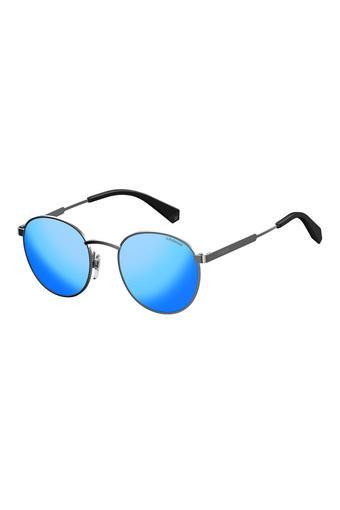Unisex Polycarbonate Round Sunglasses - PLD2053S6LB5X