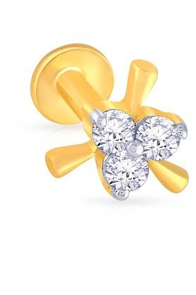 MALABAR GOLD AND DIAMONDSWomens Diamond Nosepin UINSP00031