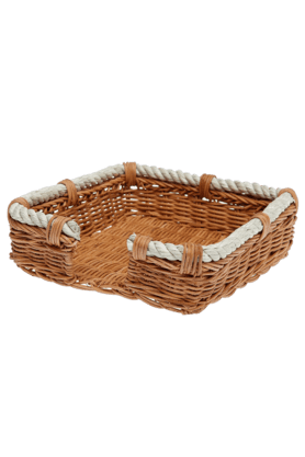 BACK TO EARTH Rope Rattan Napkin Holder