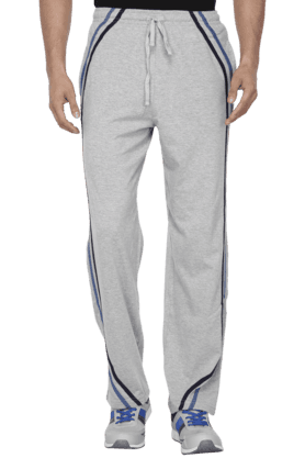 HANES Mens 2 Pocket Solid Track Pants