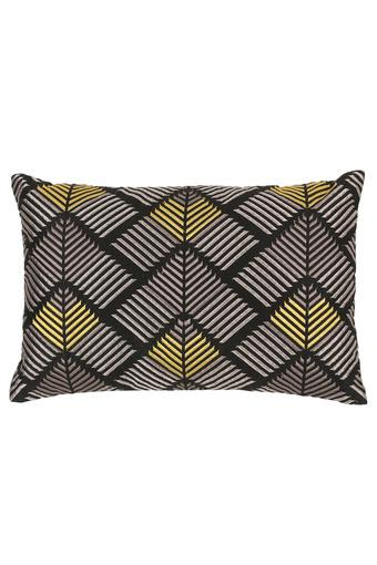 Rectangular Embroidered Beads Cushion Cover
