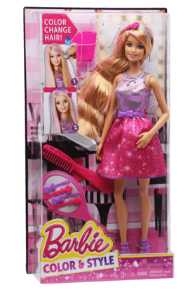 Barbie Color and Style Doll with Accessories Set