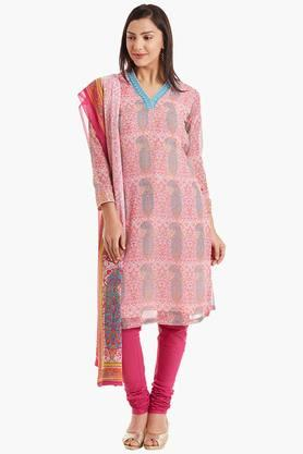 BIBA Womens Cotton Straight Suit Set - 202179823