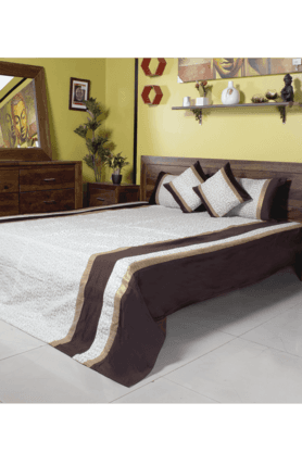 IVYDouble Bed Cover - Jacquard (Set Of 5)
