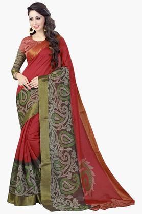 DEMARCAWomens Silk Designer Saree - 202338153