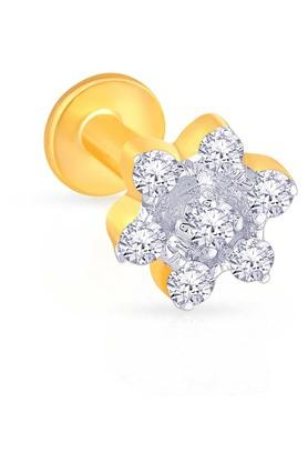 MALABAR GOLD AND DIAMONDSWomens Diamond Nosepin UINSP00039