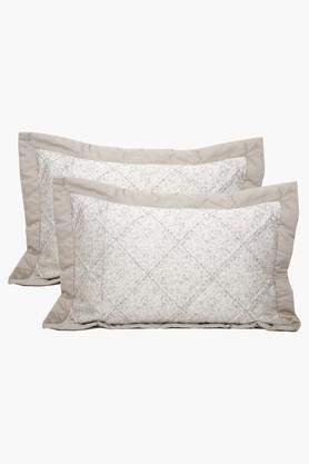 Cotton Printed Sham Cover Set Of 2