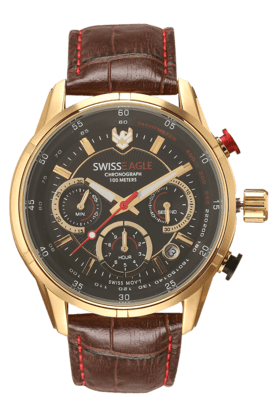 SWISS EAGLE Mens Chronograph Watch - 201008240