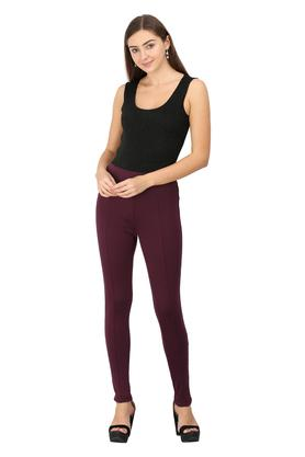 VAN HEUSEN - Purple Trousers & Pants - 3