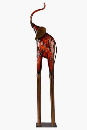 MALHARDecorative Wrought Iron Elephant Artifact Show Piece