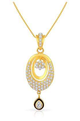 MALABAR GOLD AND DIAMONDS Womens Gold Pendant MGAAAAAAAEHE